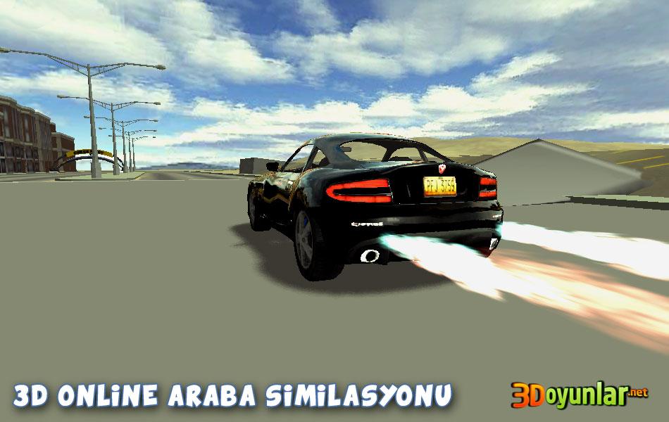 3d online araba similasyonu oyunu - 3d online oyunları oyna