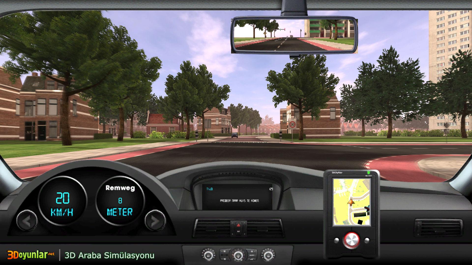 3d Araba Simülasyonu Oyunu 3d Araba Oyunları Oyna