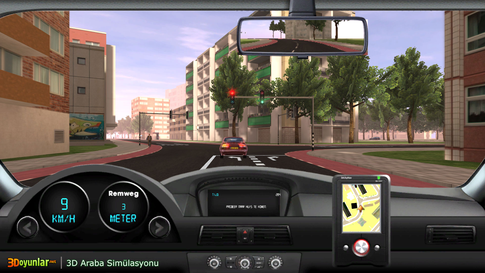 3D Oyunlar › 3D Araba › 3D Araba Simülasyonu Oyunu